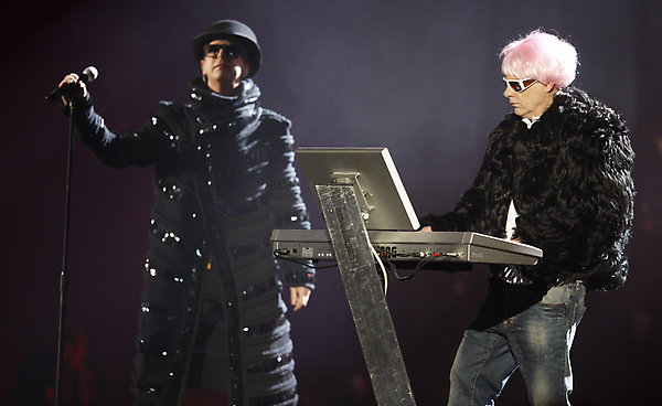 Pet Shop Boys at the Brits.
