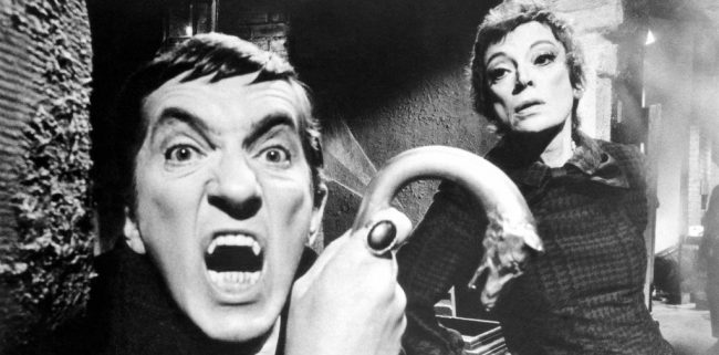 Dark Shadows Jonathan Frid and Grayson Hall