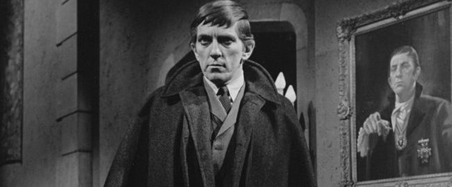 Jonathan Frid as Barnabas Collins.